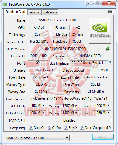 3 24 2012 10 08 54 pm ZOTAC NVIDIA GTX680 Review