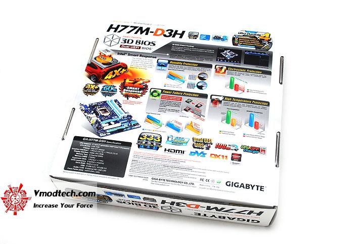 dsc 3945 GIGABYTE H77M D3H Intel H77 Motherboard