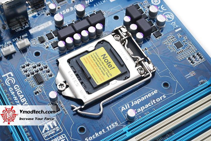 dsc 3951 GIGABYTE H77M D3H Intel H77 Motherboard