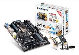 gig2 Toms Hardware ยกให้เมนบอร์ด Z77 ในรุ่น Z77X UP5 TH ของ GIGABYTE คือเมนบอร์ดไฮเอนต์ที่มีประสิทธิภาพดีที่สุด