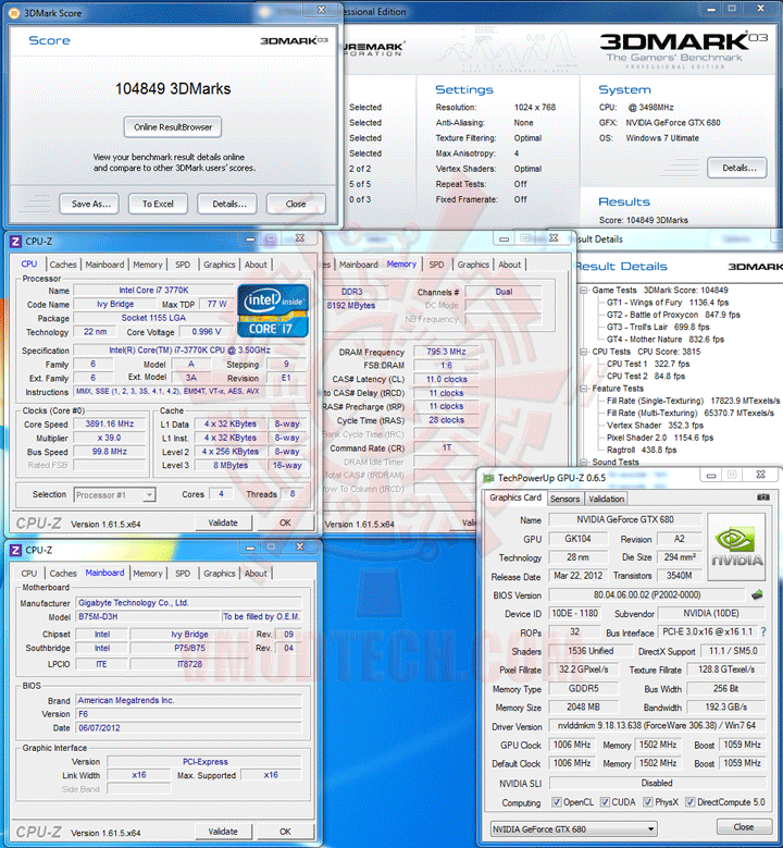 03 GIGABYTE GA B75M D3H Micro ATX Motherboard Review