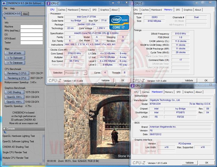 c95 GIGABYTE GA B75M D3H Micro ATX Motherboard Review