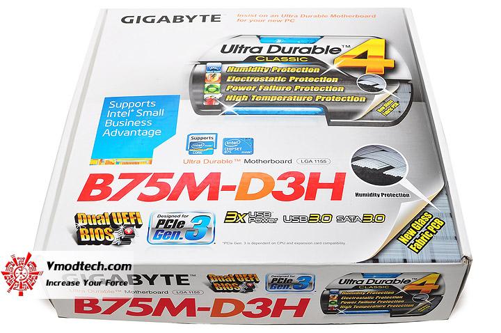 dsc 0001 GIGABYTE GA B75M D3H Micro ATX Motherboard Review