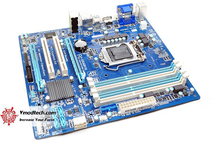 dsc 0007 GIGABYTE GA B75M D3H Micro ATX Motherboard Review
