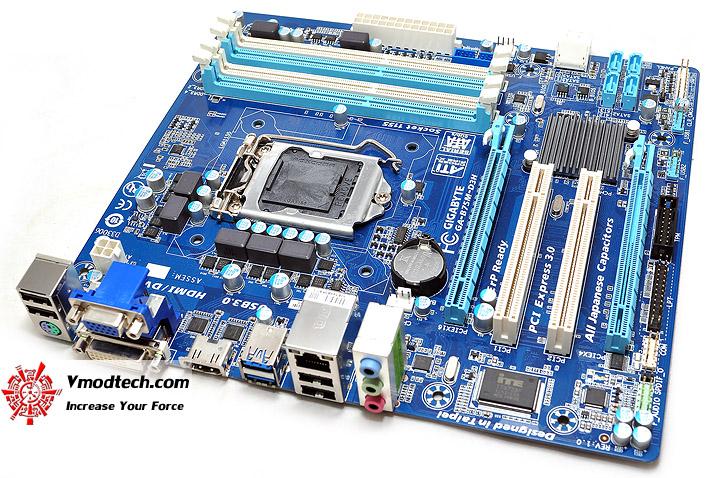 dsc 0010 GIGABYTE GA B75M D3H Micro ATX Motherboard Review