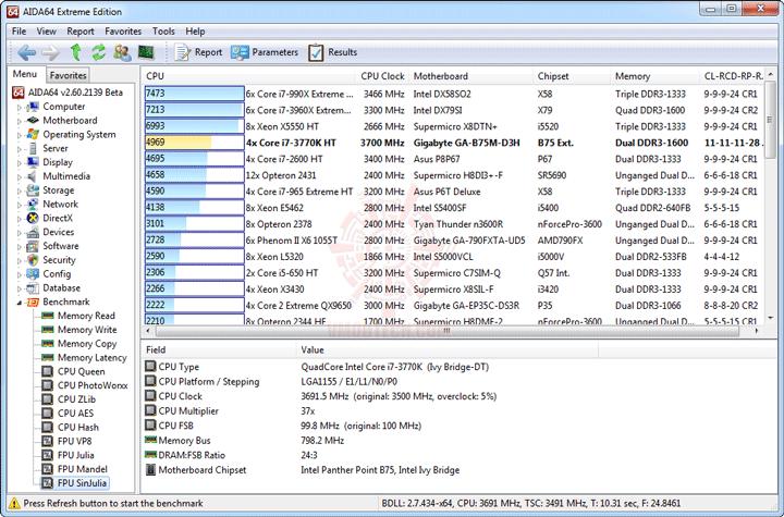 e10 GIGABYTE GA B75M D3H Micro ATX Motherboard Review