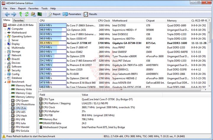 e4 GIGABYTE GA B75M D3H Micro ATX Motherboard Review