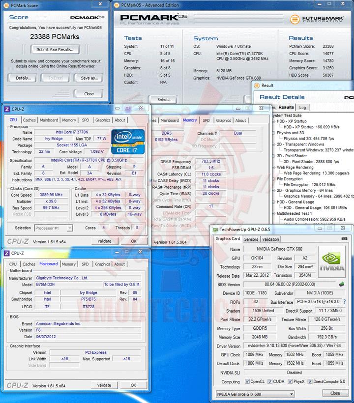 pcm05 GIGABYTE GA B75M D3H Micro ATX Motherboard Review