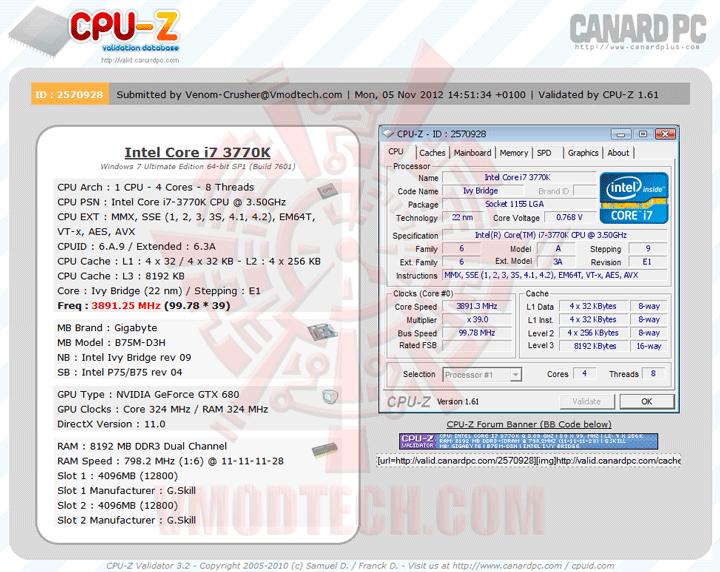 validate GIGABYTE GA B75M D3H Micro ATX Motherboard Review
