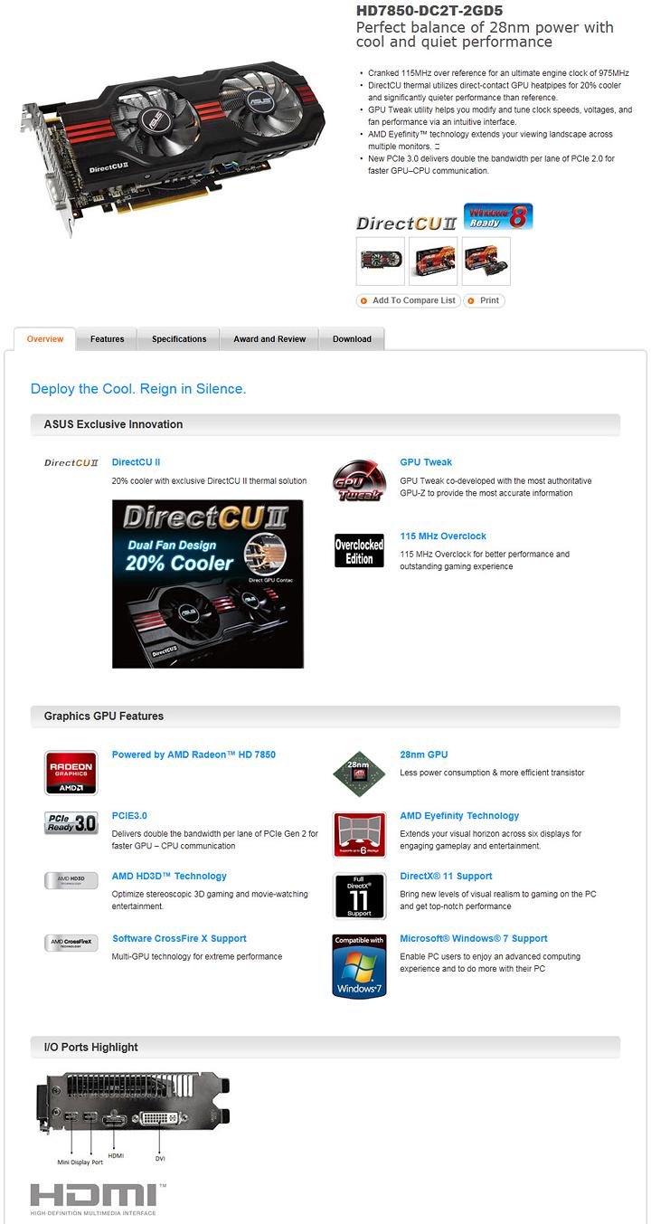 12 16 2012 10 02 32 pm ASUS HD 7850 DirectCU II TOP Review