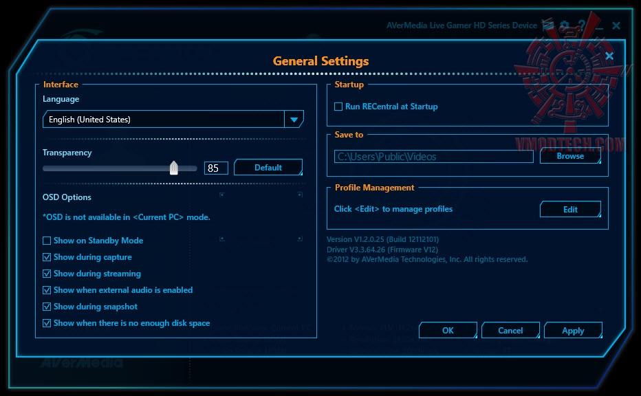 หน้าที่ 1 - Avermedia Live Gamer HD Review | Vmodtech com