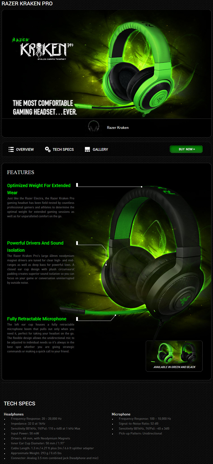 4 25 2013 9 21 26 pm RAZER KRAKEN Pro Gaming Headset Review
