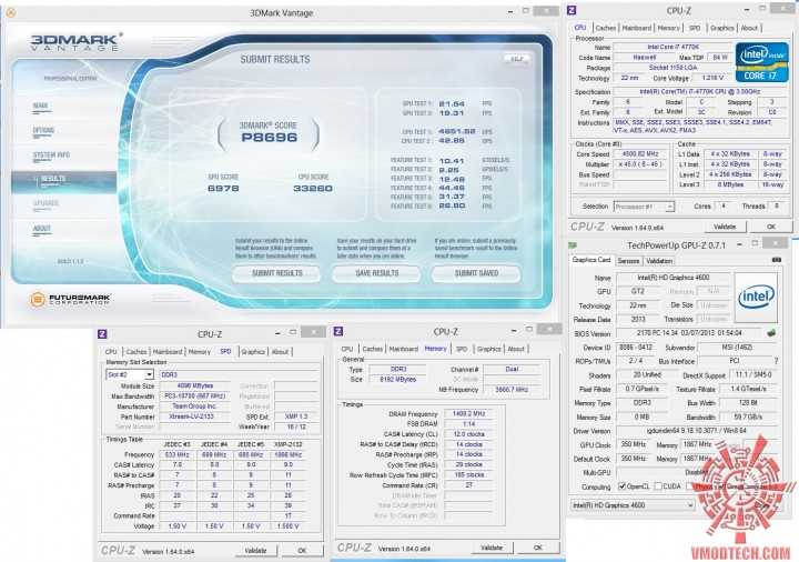Intel Core i7-4770K 'Haswell' HD Graphics 4600 GPU Review