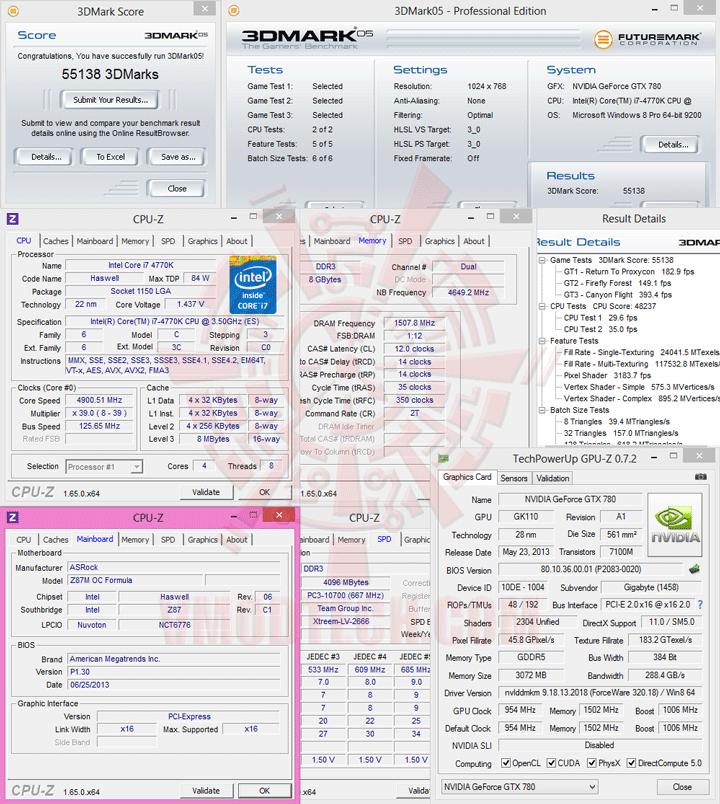 05 ASRock Z87M OC Formula Micro ATX Motherboard Review เวรี่ควิกเทสต์