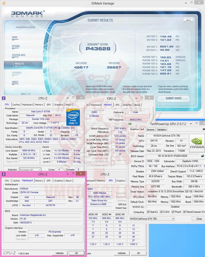 07 ASRock Z87M OC Formula Micro ATX Motherboard Review เวรี่ควิกเทสต์