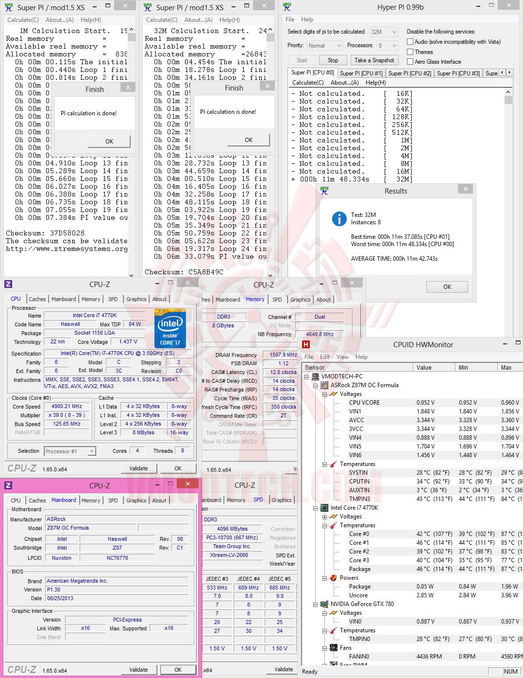 hpi 1 ASRock Z87M OC Formula Micro ATX Motherboard Review เวรี่ควิกเทสต์