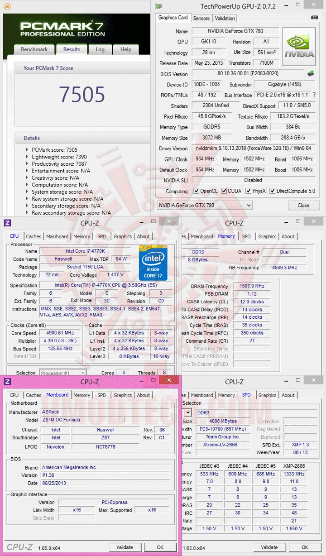 pcm7 ASRock Z87M OC Formula Micro ATX Motherboard Review เวรี่ควิกเทสต์