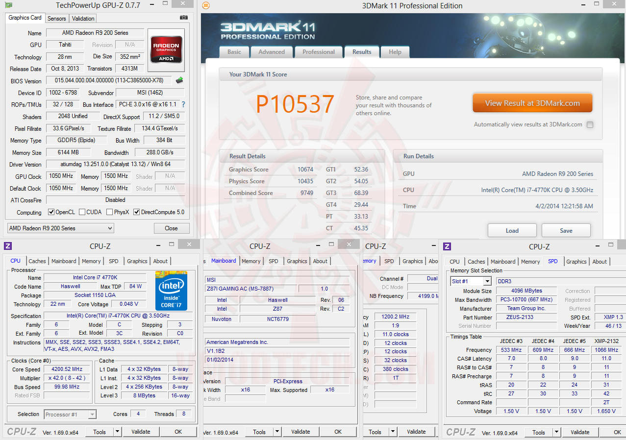 MSI RADEON R9 280X GAMING 6GB GDDR5 With MSI GAMING