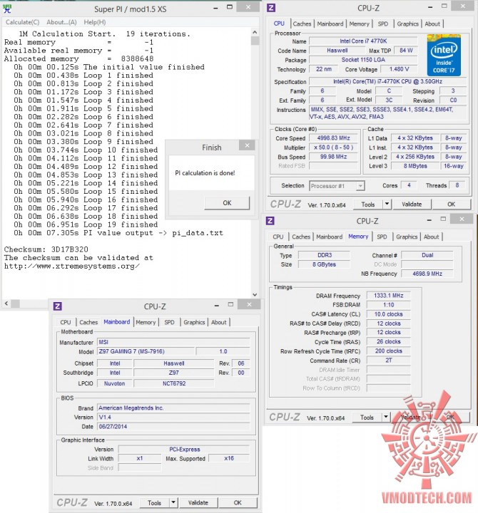 How to Overclock an Intel 4770K Guide  Overclockers Club