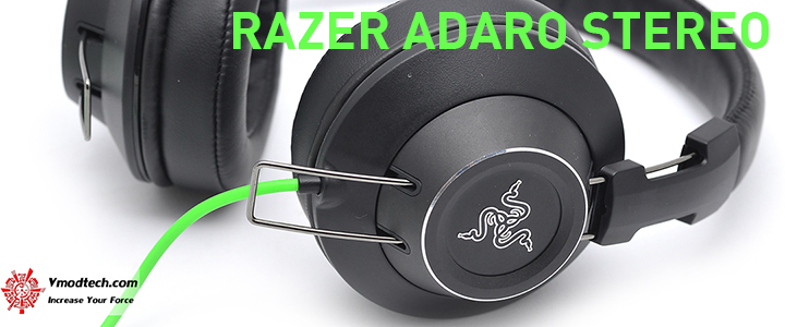 main RAZER ADARO STEREO Analog Headphones Review