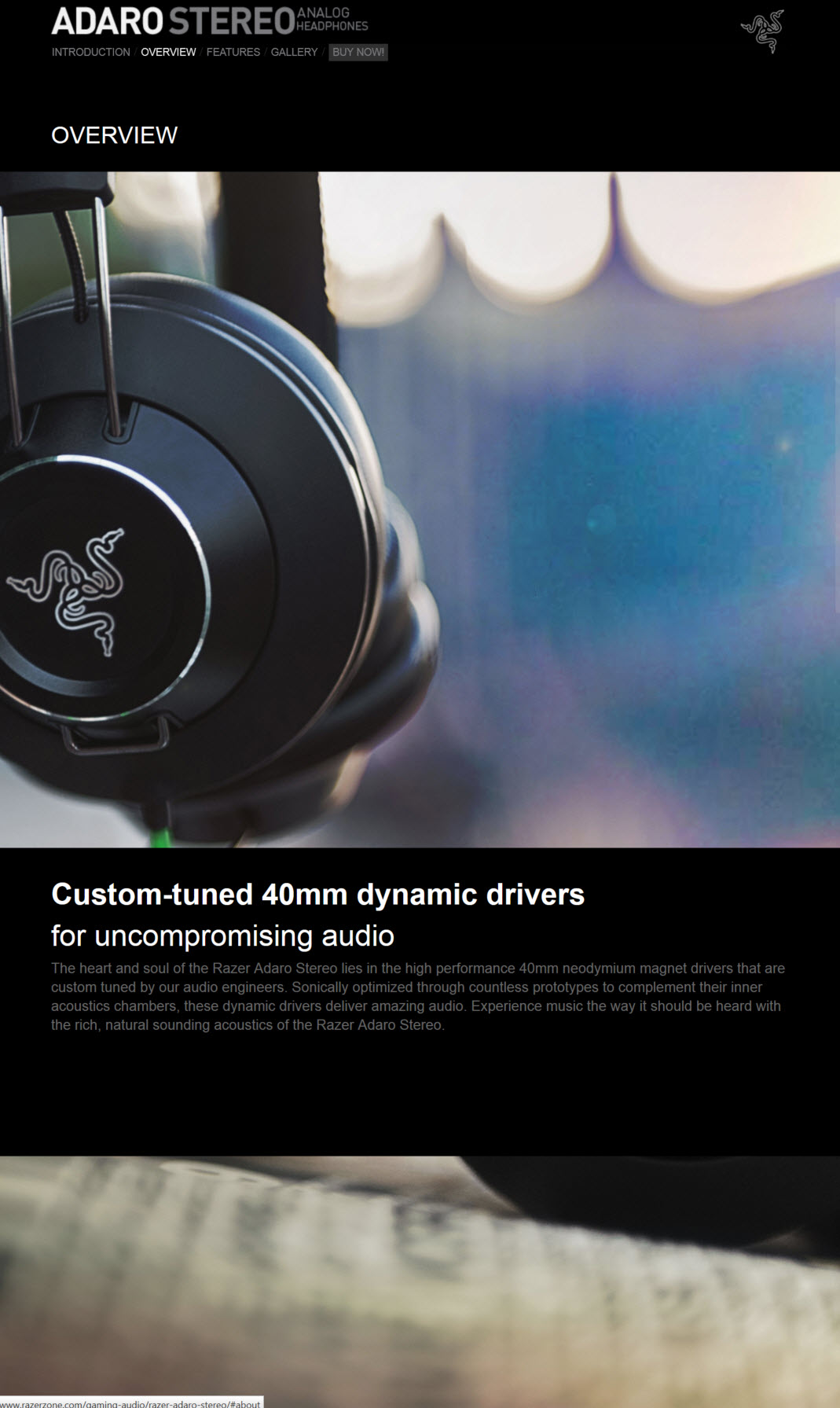 2014 07 31 21 50 32 RAZER ADARO STEREO Analog Headphones Review