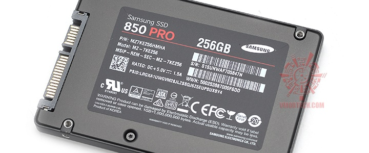 main SAMSUNG SSD 850 Pro 256GB Review