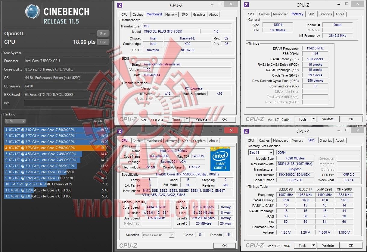 """หน้าที่ 1 - MSI X99S SLI PLUS """"Classic Series"""" Review"""