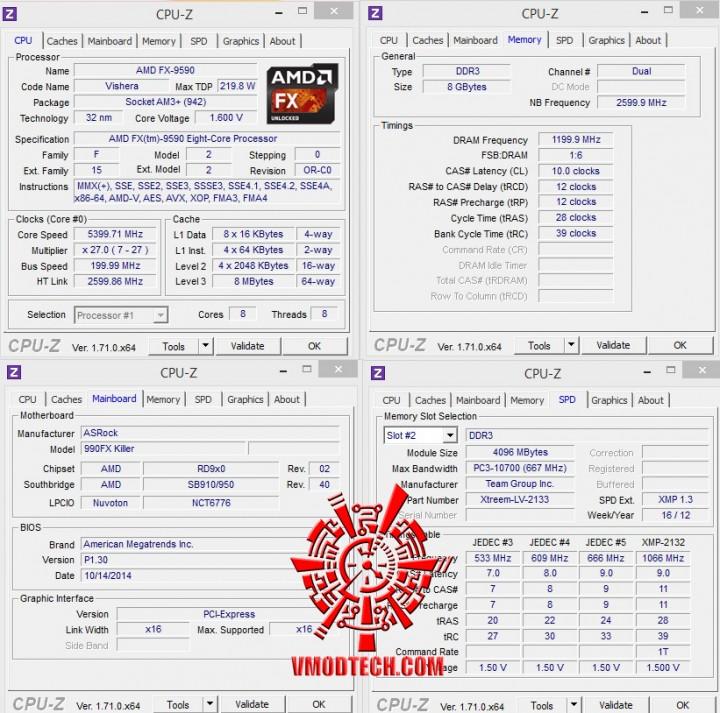 54 cpuid 720x713 ASRock Fatal1ty 990FX Killer