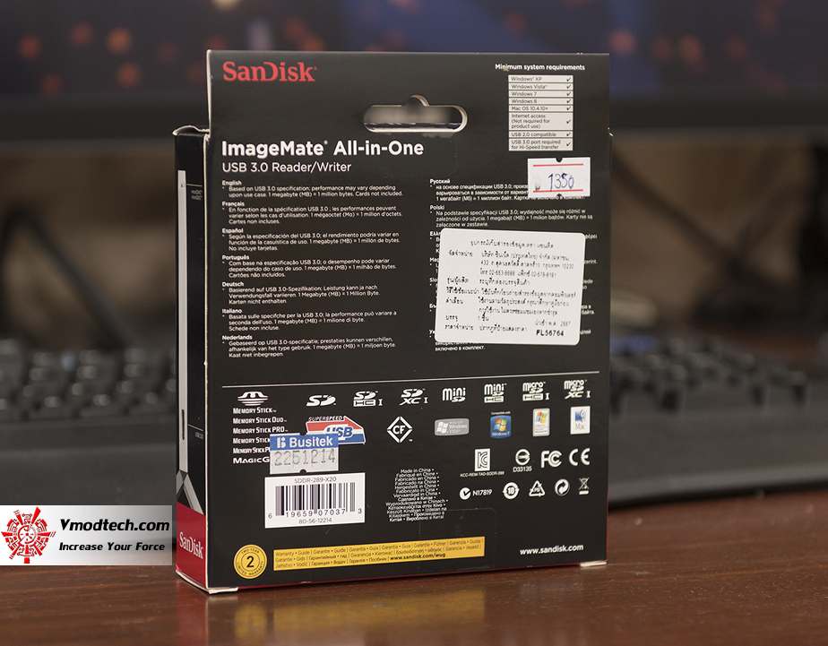 tpp 1642 SANDISK ImageMate All in One USB 3.0 Card Reader Review