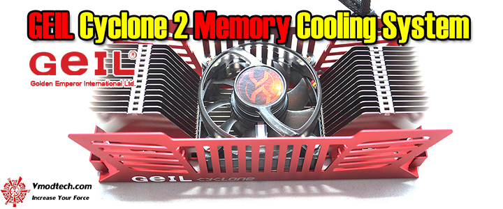 geil cyclone 2 memory cooling system GEIL Cyclone 2 Memory Cooling System