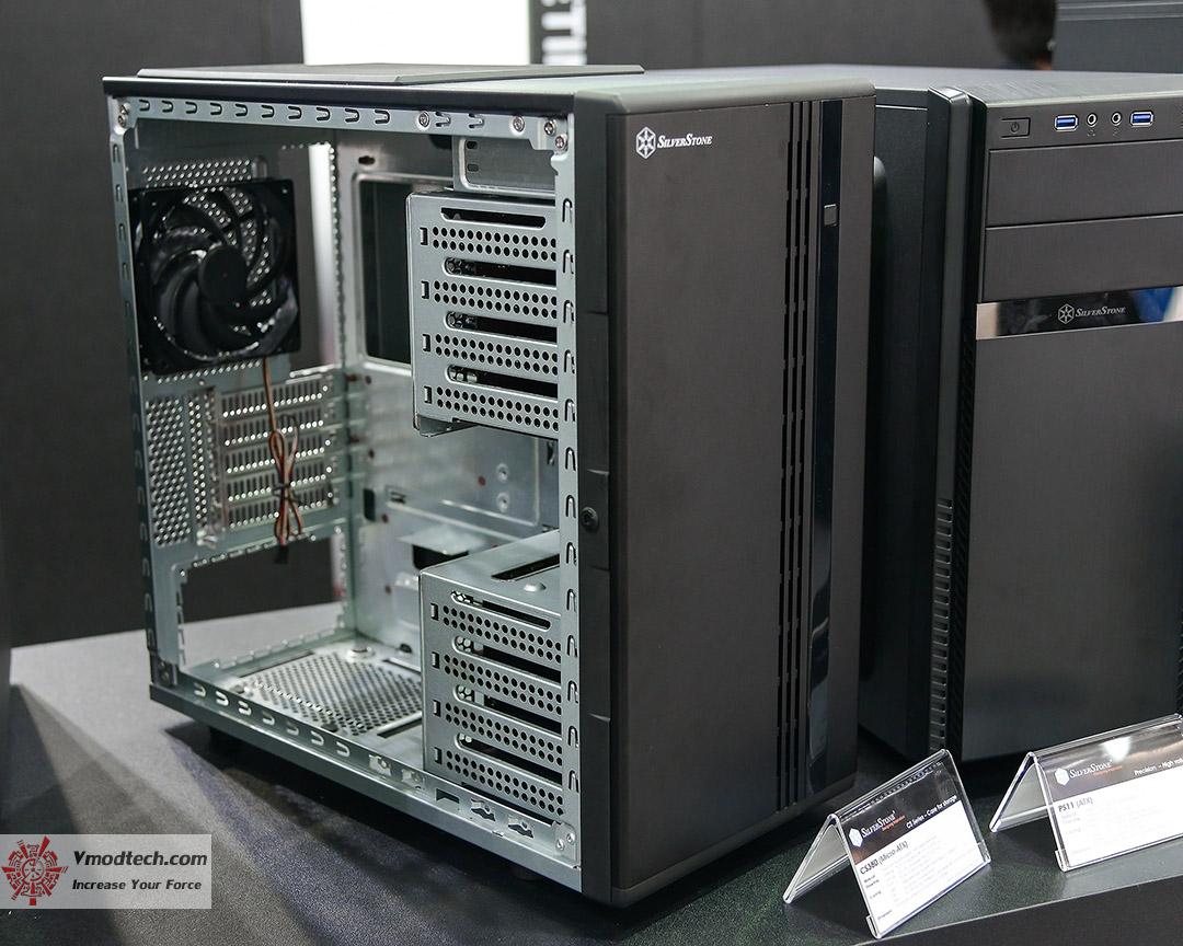 silverstone booth   computex taipei 2015  silverstone