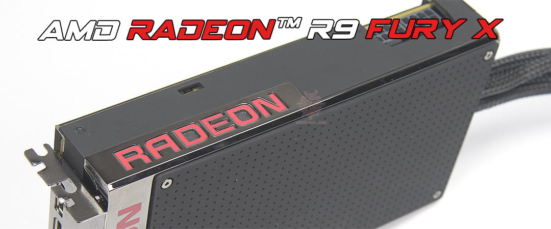 main AMD RADEON™ R9 FURY X 4GB HBM 4096 bit Review