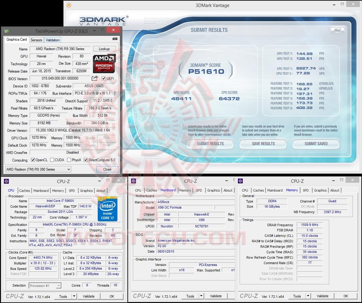 ASUS Radeon R9 390X STRIX GAMING 8GB GDDR5 Review ,ASUS Radeon R9