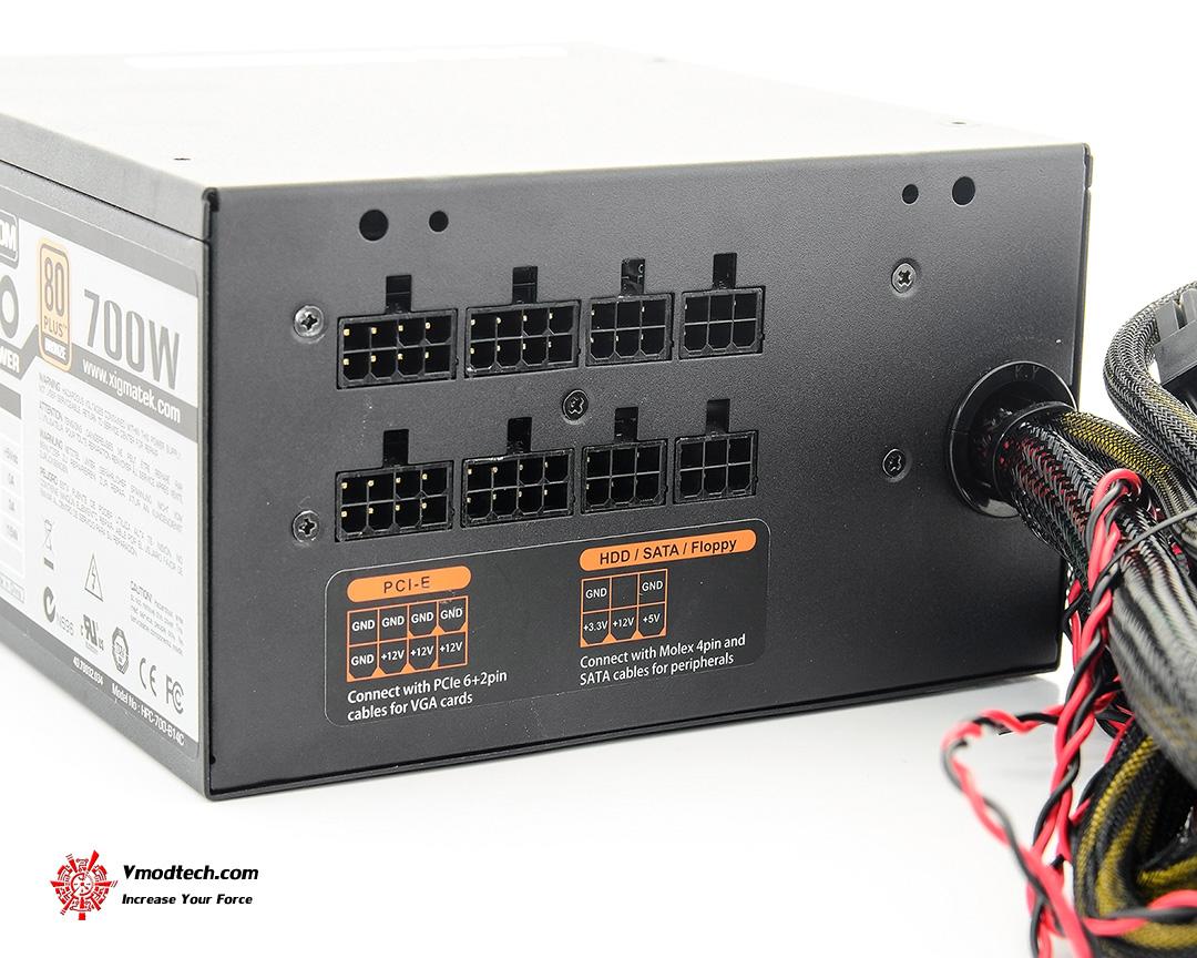 dsc 4022 Xigmatek Centauro XTK CB 0700M 700W 80 PLUS® BRONZE Power Supply Review