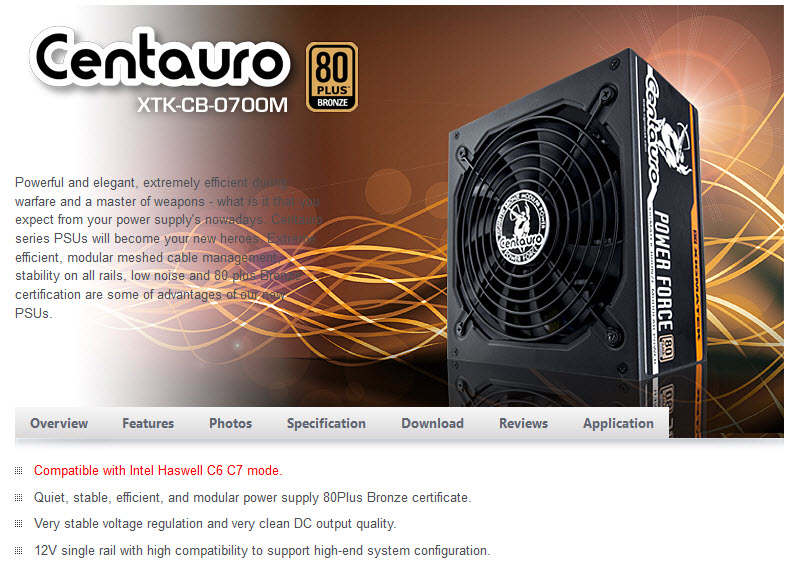 intro 01 Xigmatek Centauro XTK CB 0700M 700W 80 PLUS® BRONZE Power Supply Review