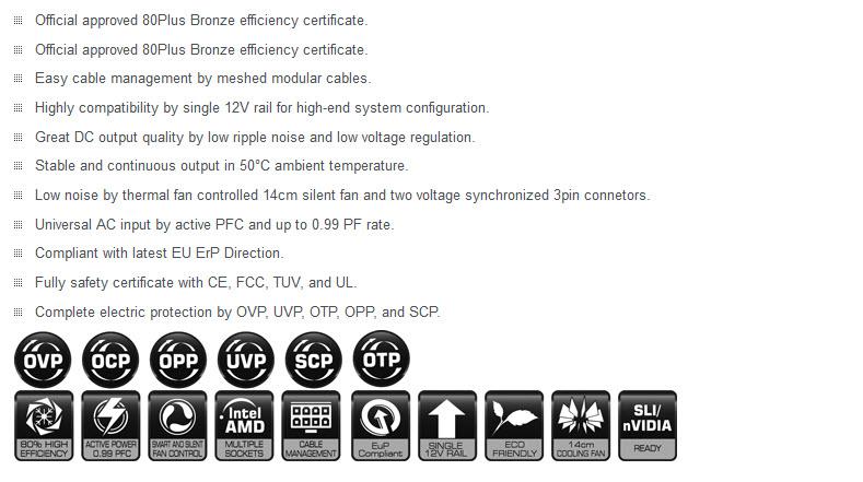 intro 02 Xigmatek Centauro XTK CB 0700M 700W 80 PLUS® BRONZE Power Supply Review