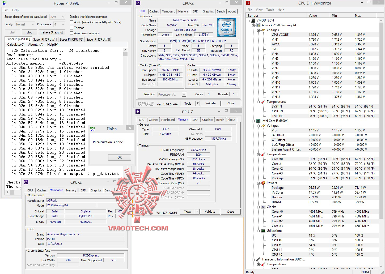 hyperpi32 ASRock Fatal1ty Z170 Gaming K4