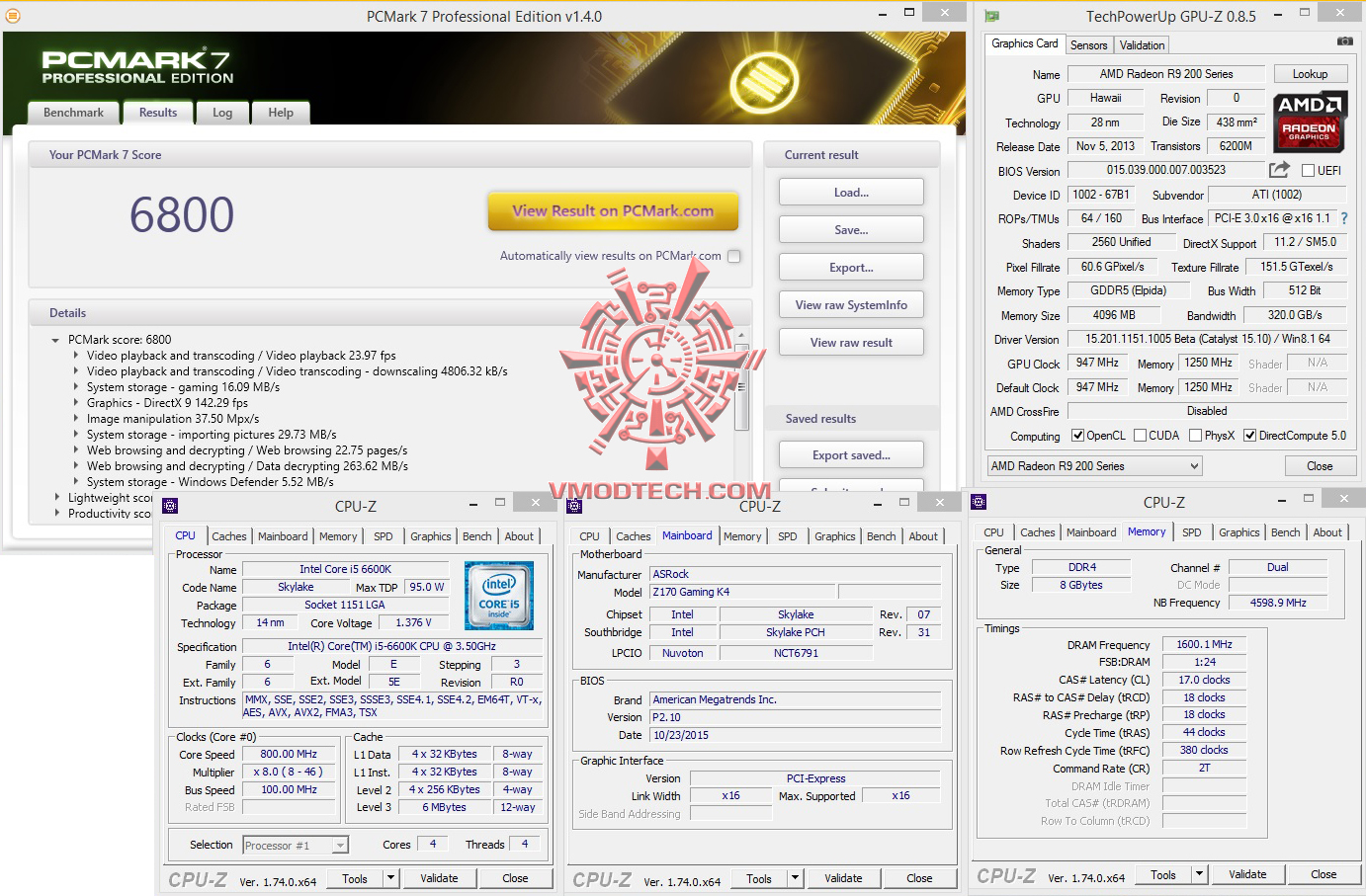 pc7 ASRock Fatal1ty Z170 Gaming K4