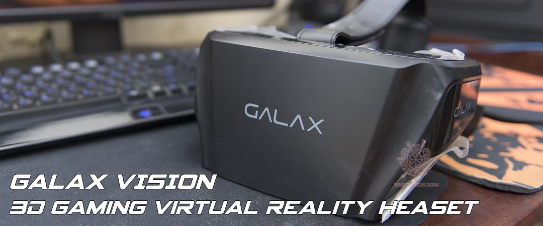 main GALAX VISION 3D Gaming Virtual Reality Heaset