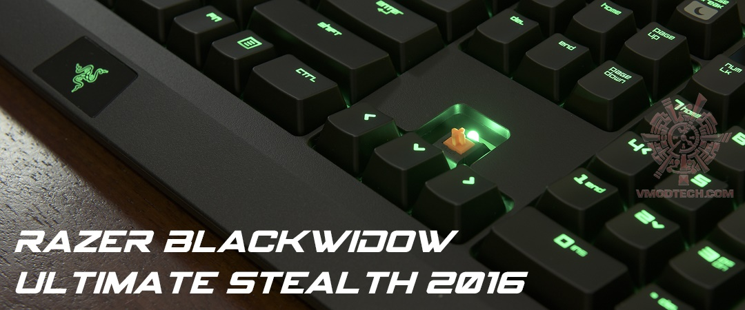 main RAZER Blackwidow Ultimate Steath 2016 Review