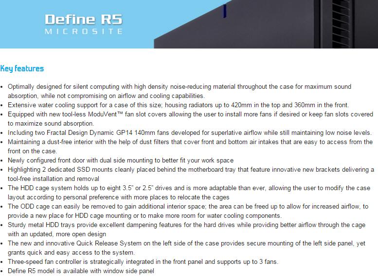 ss1 Fractal Design Define R5 Titanium Window