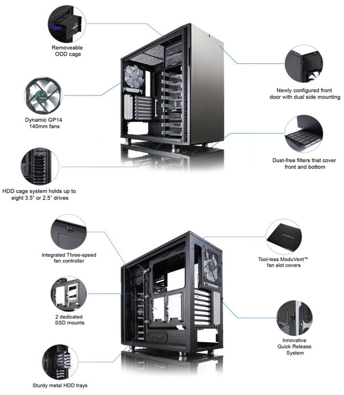 s1 Fractal Design Define R5 Titanium Window