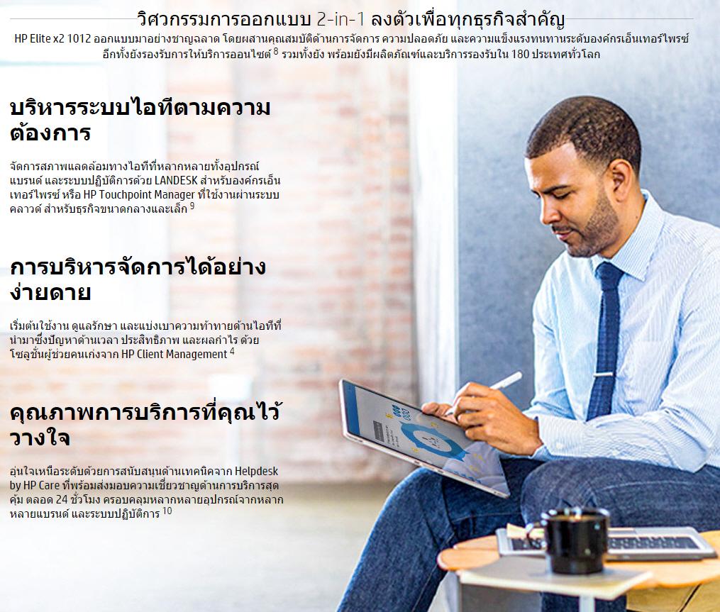 s5 ภาพบรรยากาศงานเปิดตัว HP Elite x2 1012 G1 ตัววางจำหน่ายจริงในประเทศไทย