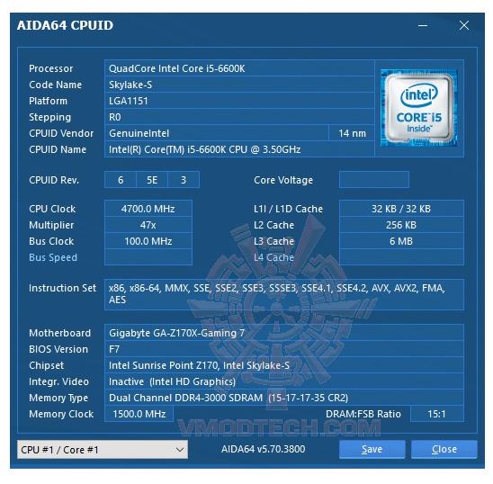 aida64 GEIL DDR4 Dragon RAM 3000Mhz 16GB REVIEW