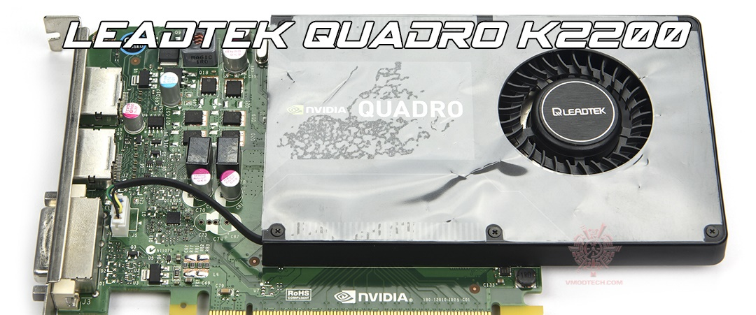 main LEADTEK QUADRO K2200 Review