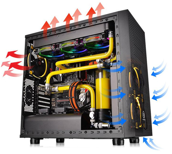 tt3 Thermaltake Core X31 Mid Tower Chassis