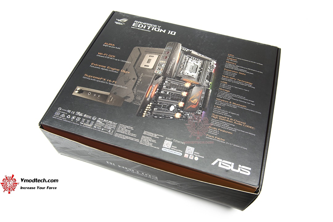 tpp 7210 ASUS ROG RAMPAGE V EDITION 10 Review