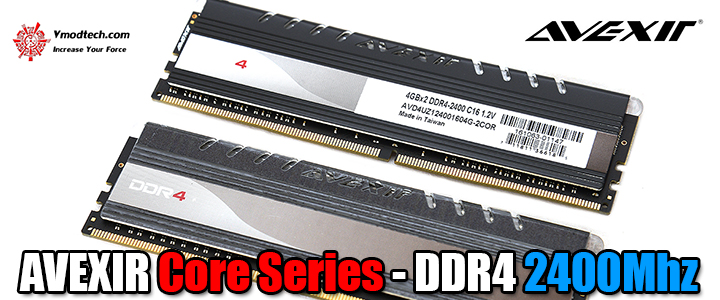 avexir core series ddr4 2400mhz AVEXIR Core Series   DDR4 2400Mhz 8GB CL16 Review