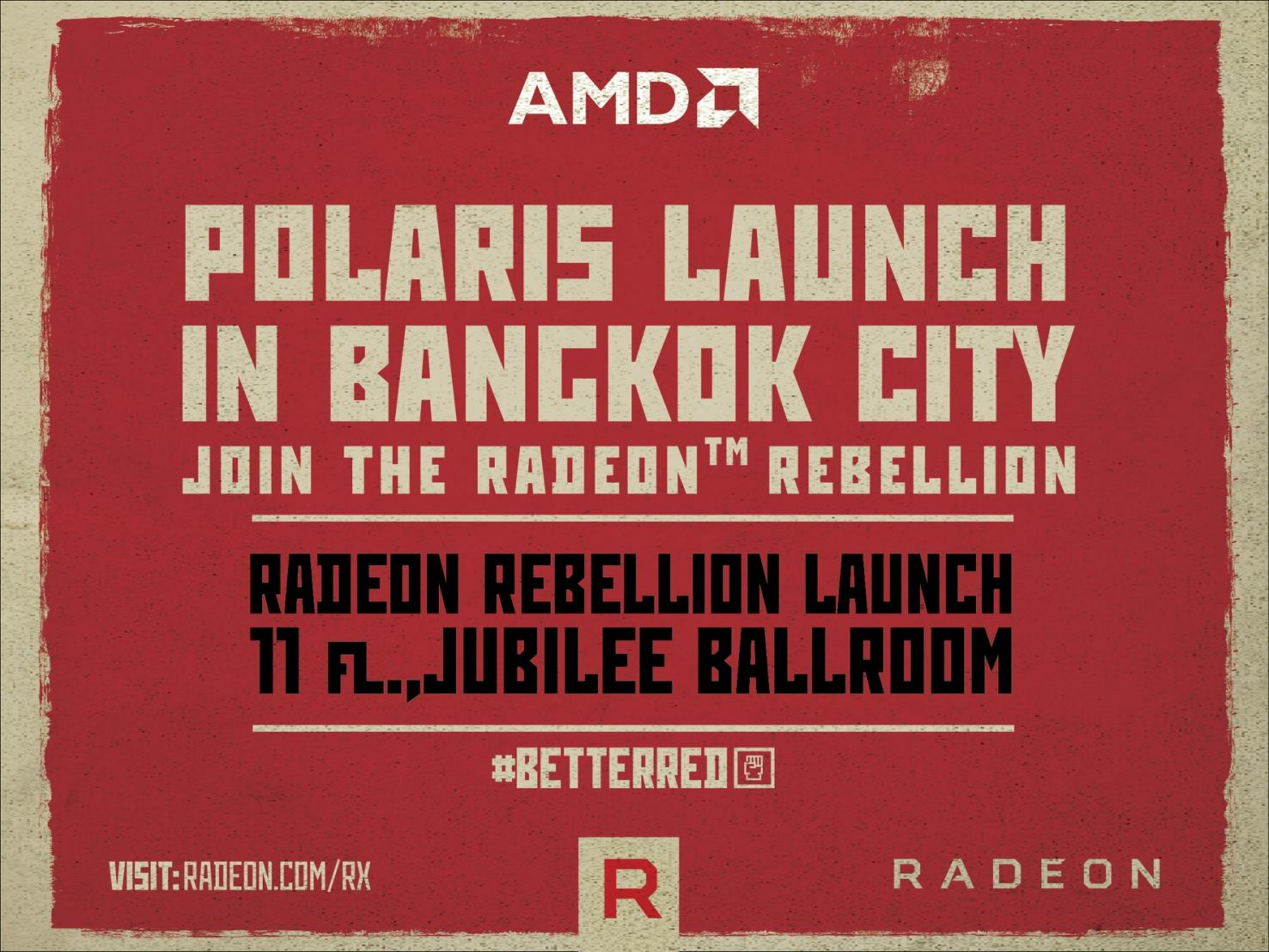 1 ภาพบรรยากาศงาน AMD POLARIS LAUNCH IN BANGKOK CITY JOIN THE RADEON REBELLION