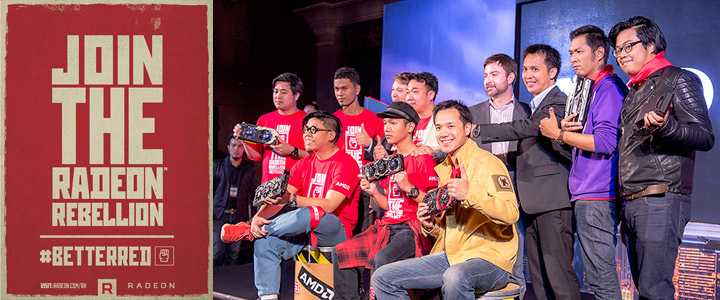 amd polaris launch in bangkok city join the radeon rebellion ภาพบรรยากาศงาน AMD POLARIS LAUNCH IN BANGKOK CITY JOIN THE RADEON REBELLION